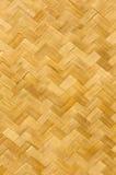Pattern of bamboo mat. Hand craft stock photo