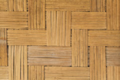Pattern of bamboo partition Stock Photo
