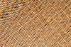 Pattern of bamboo pieces Royalty Free Stock Photos