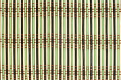 Pattern of bamboo placemat royalty free stock photos