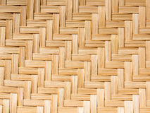 Pattern of bamboo. Texture of handmade basket . made from bamboo . use for background Stock Photo