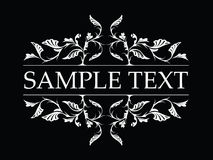 Pattern banner Royalty Free Stock Images