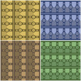 Pattern bar and cross Stock Photography