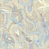Seamless pattern Paisley. Pattern based on decorative elements Paisley. Seamless pattern in indian style Royalty Free Stock Photography