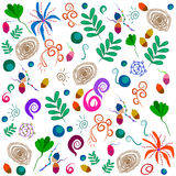 Pattern based on Thailand. Colorful pattern based on Thailand. Vector Pattern Royalty Free Stock Photo