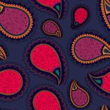 Pattern based on traditional Asian elements Paisley Stock Photography