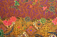 Pattern and Batik Textile Royalty Free Stock Photography
