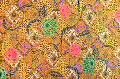 Pattern and Batik Textile Stock Image