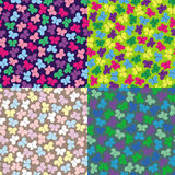 Pattern with batterfly Stock Image