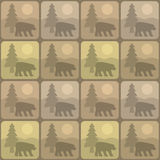 Pattern bear Stock Photos