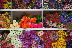 Pattern of beautiful flowers Royalty Free Stock Photo
