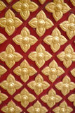 Pattern of beautiful Thai painting Royalty Free Stock Image