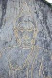 Pattern of beautiful Thai painting Stock Photo
