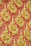 Pattern of beautiful Thai painting Royalty Free Stock Photos