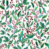 Pattern1. Beautiful vector pattern with berries on white fon