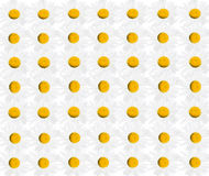 Pattern from beautiful white chamomiles Royalty Free Stock Images