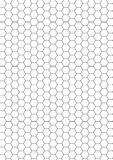 Pattern bee net Stock Images