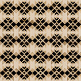 Pattern beige and black Royalty Free Stock Image