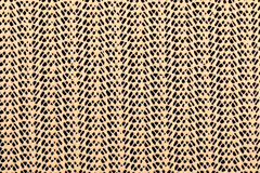 Beige lace rubber grid on a black background Royalty Free Stock Image