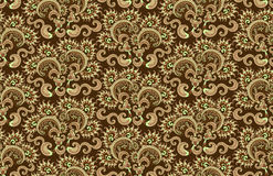 Pattern in the form of scallops Royalty Free Stock Image