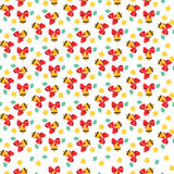 Pattern with bells Royalty Free Stock Images