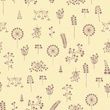 Pattern with berries Royalty Free Stock Images