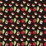 Pattern berry mix Stock Photo