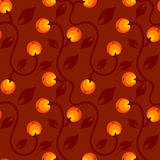 Pattern with berry Royalty Free Stock Photography