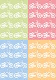 The pattern of Bicycle Stock Photos
