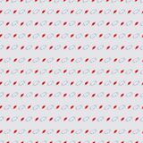 Pattern with big and small ball on light grey background. Seamless geometric pattern with big and small ball on light grey background Stock Photo