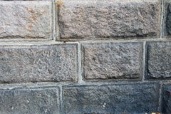 Pattern of big square block wall texture. Stone wall background Stock Photo