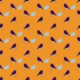 Pattern with birds Stock Photos