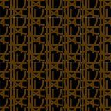 Pattern black and brown Royalty Free Stock Images