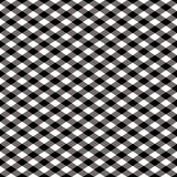 Pattern_Black Checkered e bianco Immagini Stock