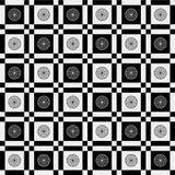 Pattern black gray Royalty Free Stock Image