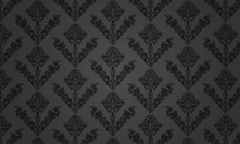 Pattern black-grey Royalty Free Stock Image