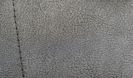 Pattern from black leatherette Royalty Free Stock Image