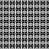 Pattern with black letter a Royalty Free Stock Photo