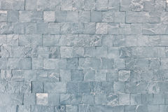 Pattern of black slate wall texture Stock Image