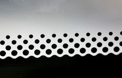 Pattern of black spots. Stock Photo
