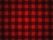Pattern with black squares on a red background lumberjack Royalty Free Stock Image