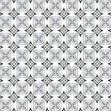 Pattern in black and white. Abstract background in black and white squares design Royalty Free Illustration