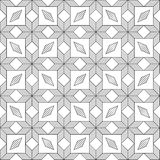 Pattern black and white Stock Image