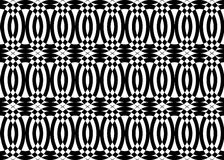Pattern black and white color. Royalty Free Stock Images