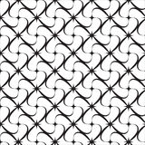 Pattern of black and white Royalty Free Stock Image