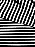 Pattern with black and white stripes. Design element for creating abstract backgrounds brushes, backdrops.  Marine sailor. Pattern with black and white stripes Stock Images
