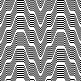 Pattern black and white zigzag Royalty Free Stock Photography