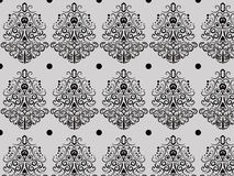 Pattern blak curl Stock Photo