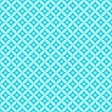 Pattern of blue sea motif vector illustration
