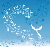 Pattern blue Stock Photo